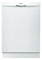 "Bosch 24"" 300 Series White Built-In Dishwasher"
