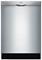"Bosch 24"" 300 Series Stainless Steel Built-In Dishwasher"