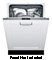 "Bosch 800 Series 24"" White Dishwasher"