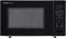 Sharp Black Countertop Microwave