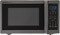 Sharp Black Stainless Steel Countertop Microwave