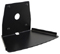 Cavus Black Trapezium Base Fixed Wall Mount