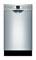 "Bosch 18"" 300 Series Stainless Steel Built-In Dishwasher"