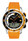 Tissot Sea-Touch Mens Orange & Black Watch