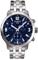 Tissot PRC 200 Blue Dial Quarts Chronograph Mens Watch