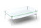 BDI Tazz 1471G Satin White Large Coffee Table