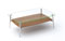 BDI Tazz 1472G  Natural Walnut Small Coffee Table