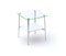 BDI Tazz 1476G Satin White End Table