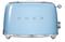 Smeg 50s Retro Style Aesthetic Pastel Blue 2 Slice Toaster