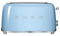 Smeg 50s Retro Style Aesthetic Pastel Blue 4 Slice Toaster