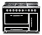 "Viking Tuscany Series 48"" Pro-Style Graphite Black Dual Fuel Range"