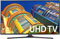 """Samsung 70"""" Black LED UHD 4K Smart HDTV"""