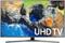 "Samsung 65"" Silver UHD 4K HDR LED Smart HDTV"
