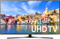 """Samsung 43"""" Black LED UHD 4K Smart HDTV"""
