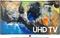 """Samsung 55"""" Black Curved UHD 4K HDR LED Smart HDTV"""