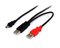 StarTech 6 Ft. USB Y Cable For External Hard Drive
