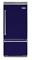 "Viking 36"" Cobalt Blue Built-In Bottom Freezer Refrigerator"