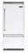 "Viking 36"" White Built-In Bottom Freezer Refrigerator"