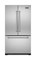 "Viking 36"" French Door Refrigerator With Bottom Mount Freezer"