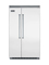 "Viking 5 Series 48"" Stainless Steel Built-In Side-By-Side Refrigerator"