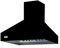"Viking Professional Series 48"" Black Chimney Wall Hood"