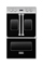 "Viking 30"" Black Electric French-Door Double Oven"
