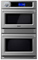 "Viking 30"" Professional TurboChef Graphite Gray Built-In Double Electric Oven"