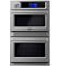 "Viking 30"" Professional TurboChef Stainless Steel Built-In Double Electric Oven"