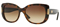 Versace Havana Brown Square Womens Sunglasses