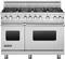 "Viking 48"" Pro-Style Stainless Steel Freestanding Gas Range"