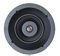 Sonance Black Visual Performance Series In-Ceiling THINLINE Speakers With Square AdapteR