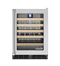 "Viking 24"" Stainless Steel Left Hinge Wine Cellar"