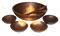 "Holland Bowl Mill American Walnut 15"" Wooden Salad Bowl Set"