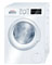 "Bosch 24"" 300 Series White Front Loading Compact Washer"