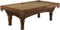 Brunswick Woodbury 8 Ft. Chestnut And Sahara Billiard Table Package