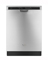 Whirlpool Gold Series TargetClean Option Stainless Steel Built-In Dishwasher