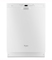 Whirlpool Gold Series TargetClean Option White Built-In Dishwasher