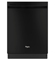 Whirlpool Gold Series Black Built-In Dishwasher With Silverware Spray