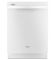 Whirlpool Gold Series White Built-In Dishwasher With Silverware Spray