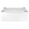 """Samsung 30"""" White Washer Or Dryer Pedestal"""