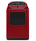 Whirlpool Cranberry Red Cabrio High Efficiency Electric Steam Dryer