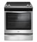 Whirlpool 6.4 Cu. Ft. Stainless Steel Slide-In Electric Range
