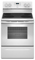 "Whirlpool 30"" White Freestanding Electric Range"