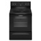 "Whirlpool 30"" Freestanding Black Electric Range Oven"