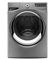 Whirlpool Duet Steam 4.3 Cu.Ft. Chrome Shadow Front Load Washer