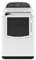 Whirlpool Cabrio White Gas Steam Dryer