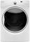 Whirlpool White Steam Gas Dryer