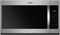 Whirlpool Black-On-Stainless Over-The-Range Microwave Hood Combination