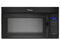 Whirlpool Black Microwave Hood Combination