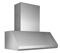 "Best Emperor 48"" Stainless Steel Pro-Style Outdoor Range Wall Hood"